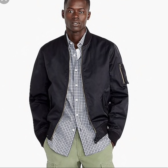 1c57c8bb7 J Crew Wallace and Barnes M1 Bomber Jacket NEW NWT